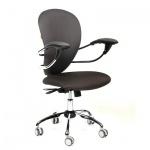 Кресло офисное Chairman 686 ткань, крестовина хром, черное
