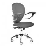 Кресло офисное Chairman 686 ткань, серая, JP, крестовина хром