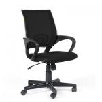 Кресло офисное Chairman 696 ткань, черная TW,  черная TW, крестовина пластик