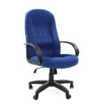 Кресло офисное Chairman 685 ткань, синяя, крестовина пластик