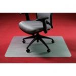Коврик под кресло Clear Style квадратный 920х920мм, 2.3мм, 1650, для коврового покрытия
