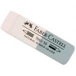 Ластик Faber-Castell 7061 50x16x7мм, бело-серый, каучук, 186150