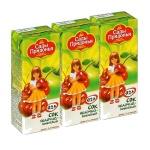 Сок Сады Придонья, 0.2л х 3шт, яблоко-вишня