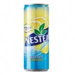 Чай холодный Nestea лимон, 0.33л х 12шт, ж/б