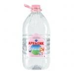 Вода минеральная Архыз без газа, 5л детская