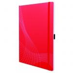 Блокнот Avery Zweckform Notizio 7043, красный, 297 x 212мм, А4, 80 листов, в клетку, пластик