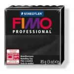 Полимерная глина Fimo Professional черная, 85г