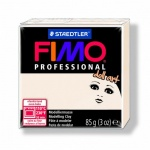 Полимерная глина Fimo Professional Doll Art полупрозрачная фарфоровая, 85г