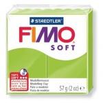 Полимерная глина Fimo Soft светло-зеленая, 57г