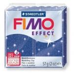 Полимерная глина Fimo Effect синяя металлик, 57г