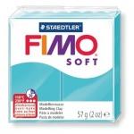 Полимерная глина Fimo Soft мятная, 57г