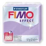 Полимерная глина Fimo Effect лиловая пастель, 57г