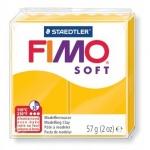 Полимерная глина Fimo Soft желтая, 57г