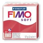Полимерная глина Fimo Soft вишневая, 57г