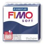 Полимерная глина Fimo Soft королевский синий, 57г
