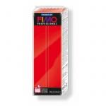 Полимерная глина Fimo Professional чисто-красная, 350г