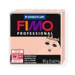 Полимерная глина Fimo Professional Doll Art полупрозрачная розовая, 85г