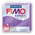 Полимерная глина Fimo Effect лиловая полупрозрачная, 57г