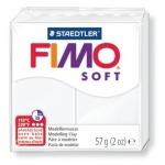 Полимерная глина Fimo Soft белая, 57г