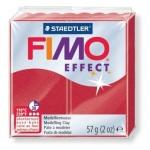 Полимерная глина Fimo Effect рубиновая, 57г