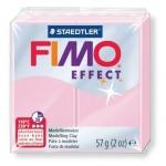 Полимерная глина Fimo Effect розовая пастель, 57г