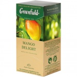 Чай Greenfield Mango Delight (Манго Делайт), белый, 25 пакетиков