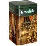 Чай Greenfield, черный, листовой, ж/б, 150 г, Миднайт Мистери