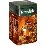 Чай Greenfield Sweet Holidays (Свит Холидэйс), черный, листовой, ж/б, 150 г