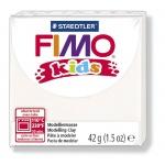 Полимерная глина Fimo Kids белая, 42г