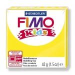Полимерная глина Fimo Kids желтая, 42г