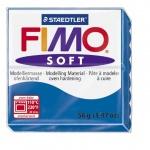 Полимерная глина Fimo Soft синяя, 57г