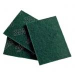 Губка для мытья посуды Scotch-Brite 96 абразивная, 22.4х15.8см, зеленая, 20шт/уп