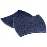 Губка для мытья посуды Scotch-Brite 2000 абразивные, 13х15.8см, синие, 20шт/уп
