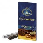 Шоколад Вдохновение темный грецкий орех и грильяж, 100г