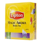 Чай Lipton, черный, 100 пакетиков, Magic Aroma