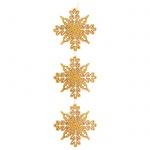 "527440 Фигурка - подвесн. Tarrington House ""Снежинка"" 95см., золото"