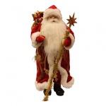 Декоративная кукла Ruian Trust Import Дед Мороз 60см, красный, 395869