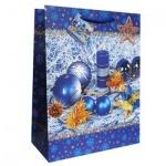 Пакет подарочный новогодний 26x325x12.5см, EUX/140309