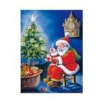 Пакет подарочный новогодний 26х32.5х13см, EUX/130302