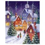 Пакет подарочный новогодний 33x45.x10см, EUX/140406