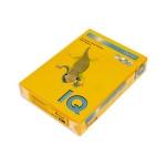 Цветная бумага для принтера Iq Color старое золото, А4, 100 листов, 80г/м2, AG10