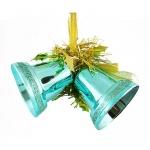 Елочная игрушка Tarrington House Сказка 2шт, бирюзовая, пластик, 527432
