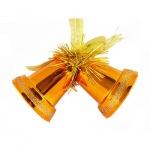 Елочная игрушка Tarrington House Сказка 2шт, оранжевая, пластик, 527432
