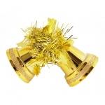 Елочная игрушка Tarrington House Традиция 2шт, золото, пластик, 527431