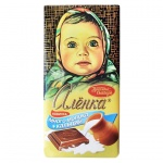Шоколад Аленка молочный, 100г
