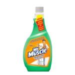 Чистящее средство Мистер Мускул Профессионал 500мл, с нашатыр. спиртом, зап. блок, зеленый
