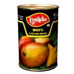 Консервированные фрукты Лорадо Манго в сиропе, 425мл