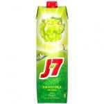Сок J7, 0.97л, виноград-яблоко