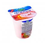 Йогурт Нежный с соком банана и клубники, 1.2%, 100г