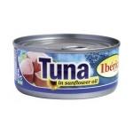 Тунец Iberica в подсолнечном масле, 160г